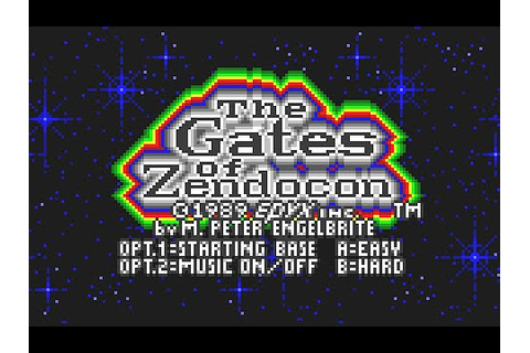 Atari Lynx Longplay [12] The Gates of Zendocon - YouTube