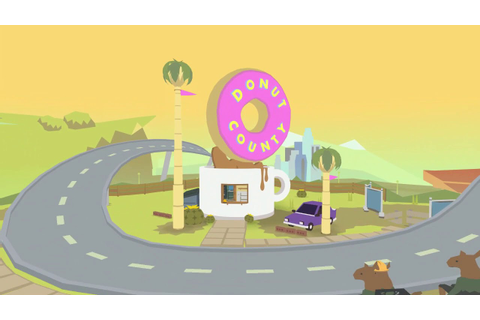 Donut County hands-on gameplay - YouTube