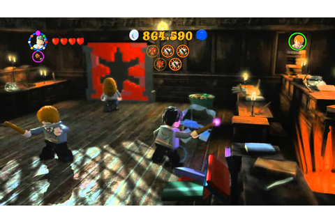 Lego Harry Potter Years 5-7 Walkthrough (21) Year 6 ...