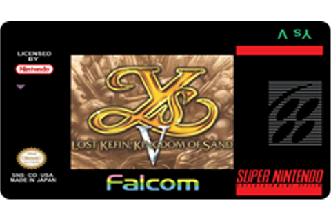 Ys V: Lost Kefin, Kingdom of Sand – Lost Classics