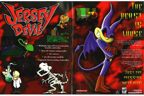 Jersey Devil PSX cover