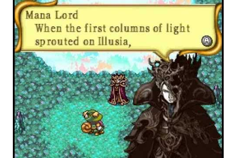 Children of Mana Boss 07 The Mana Lord (No Damage & Magic ...