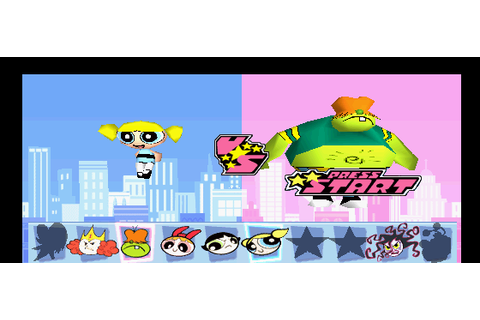 The Powerpuff Girls: Chemical X-traction (PSX) Game - Playstation ...