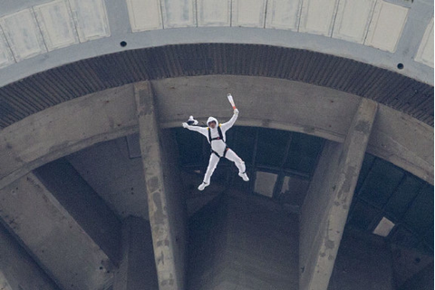 BASE jumpers make historic leap from CN Tower for Pan Am ...