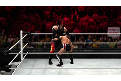 Kane hits his finisher in WWE '13 (Official) - YouTube