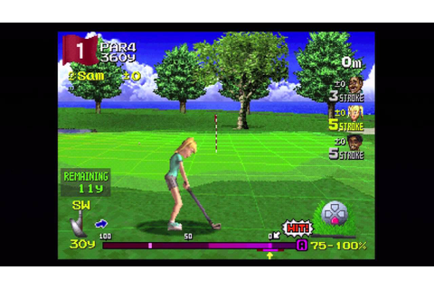 Classic Capture - Hot Shots Golf 2 (PS1) - YouTube