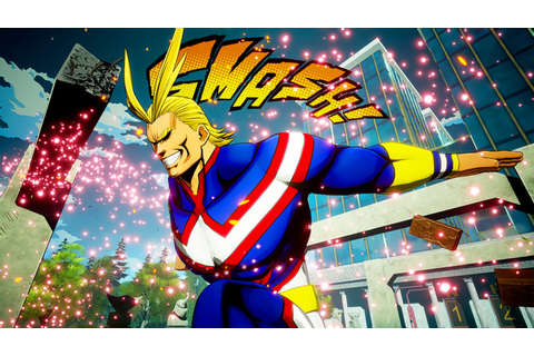"Crunchyroll - ""My Hero Academia"" Game Puts All Might and ..."
