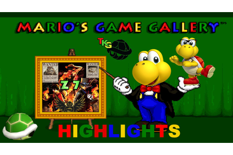 TKG Has Fun with Mario's Game Gallery - Highlights - YouTube