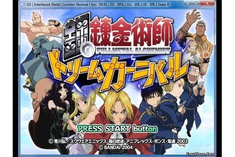 PS2 Longplay [050] Fullmetal Alchemist: Dream Carnival ...