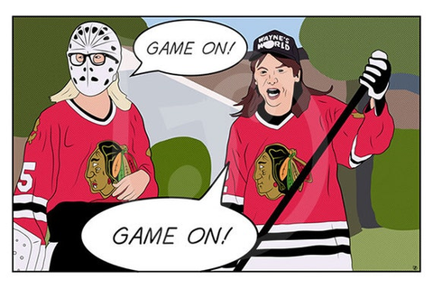 Game On Wayne's World