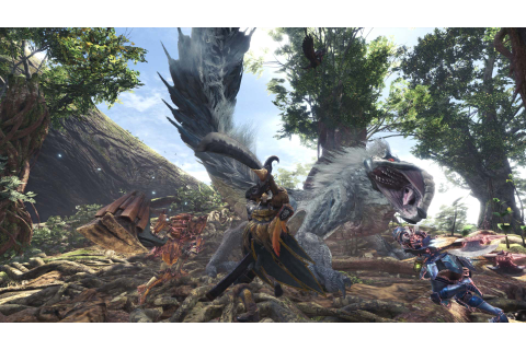Monster Hunter World Update 1.01 Detailed, Download Size ...