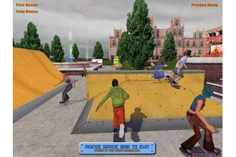 Play free Skateboard Park Tycoon 2004 Online games. Play ...