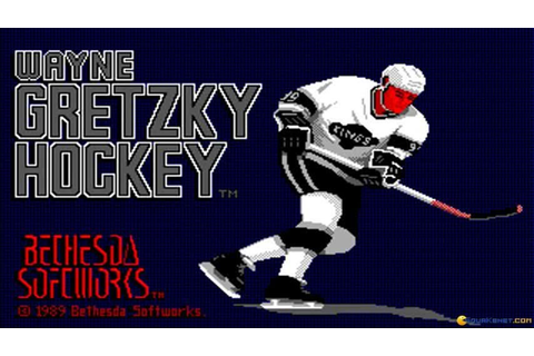 Wayne Gretzky Hockey gameplay (PC Game, 1988) - YouTube
