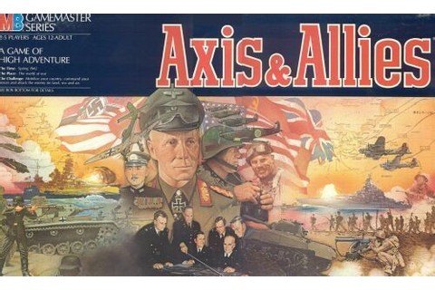 Axis & Allies | Board Game | BoardGameGeek