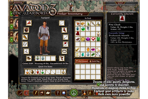 Avadon 3: The Warborn HD - iPad app - AppWereld