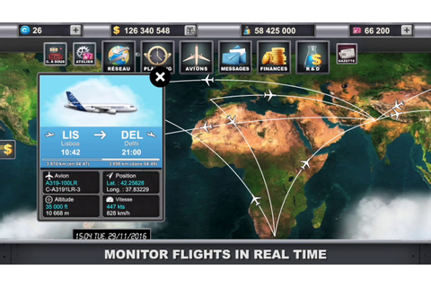 Teaser tycoon game Airlines-Manager (iPhone, iPad and ...
