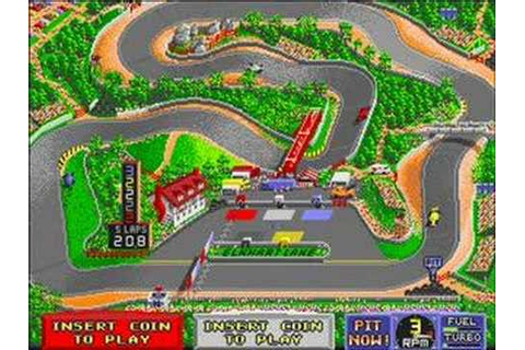 Danny Sullivan's Indy Heat (Arcade) -- Part 2 - YouTube