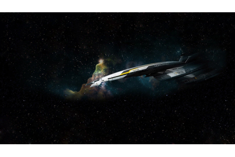 Wallpaper : video games, Mass Effect, galaxy, vehicle ...