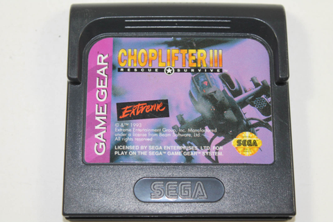 Choplifter III - Sega Game Gear