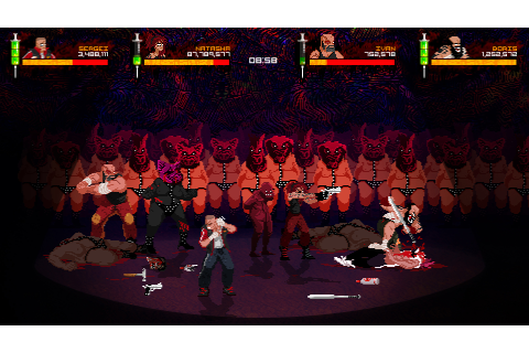 Save 75% on Mother Russia Bleeds on Steam