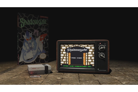 Shadowgate (NES, 1989) - Video Game Years History - YouTube