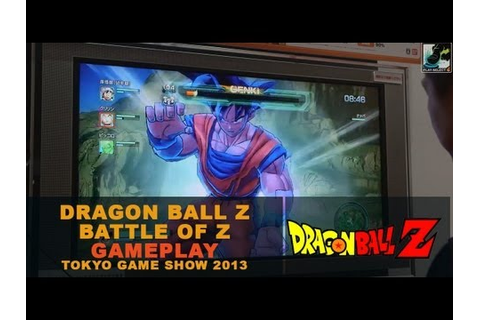 Dragon Ball Z: Battle of Z / Tokyo Game Show 2013 Gameplay ...