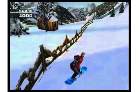 MTV Sports: Snowboarding (PlayStation One) - YouTube