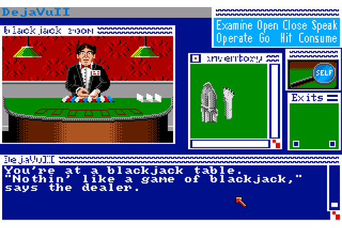Deja Vu II: Lost in Las Vegas (1989) by Icom Simulations ...