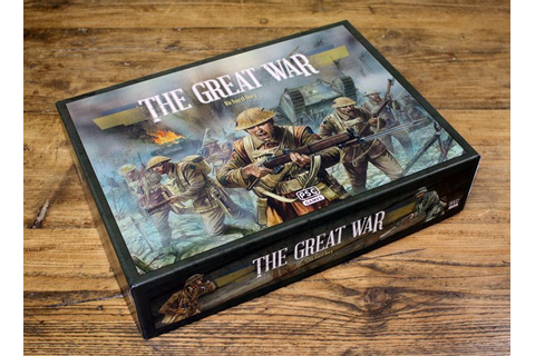 The Great War: strategy board game to launch at UK Games ...