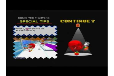 Game Over: Sonic the Fighters - YouTube