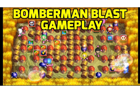 Bomberman Blast (WiiWare) - All Stages Gameplay - YouTube