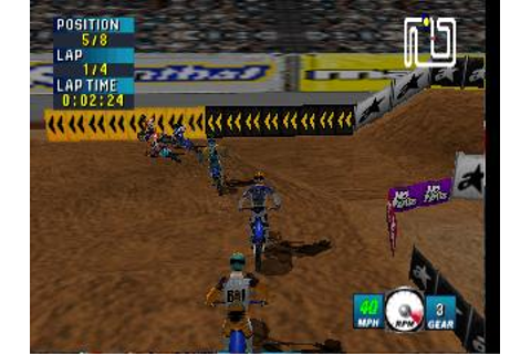 Jeremy McGrath Supercross 2000 Nintendo 64 Game