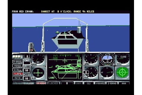 Flight Of The Intruder PC 1990 Flight Combat Simulation ...