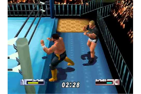 Virtual Pro Wrestling 2-Tournament Match 2 - YouTube