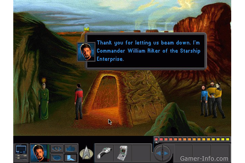 Star Trek: The Next Generation - A Final Unity (1995 video ...