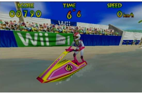 Virtual Console Version of Wave Race Features Wii Ads | WIRED