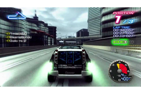 Ridge Racer 6 Online Battle 01 - YouTube