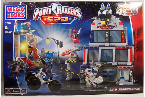 Power Rangers SPD Mega Bloks Headquarters | ThePowerDome ...
