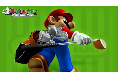 Mario Golf: Toadstool Tour Full HD Bakgrund and Bakgrund ...