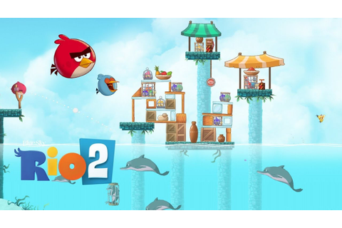 Angry Birds Rio 2 Part 1 - Kids Games Gameplay by GAMES ...