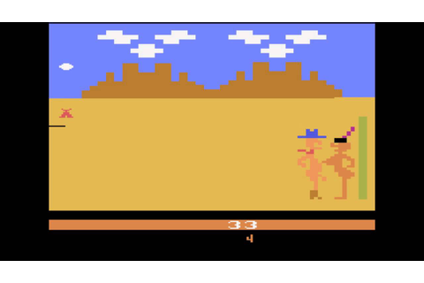 Custer's Revenge [Atari 2600] - Gameplay and Commentary ...