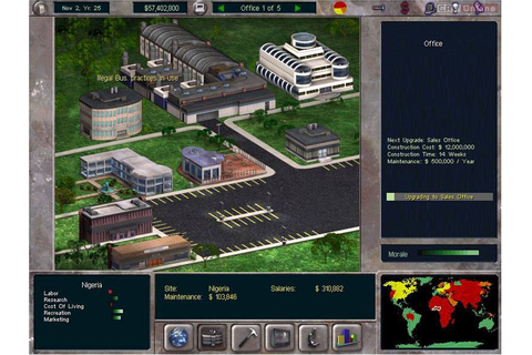 The Corporate Machine - galeria screenshotów - screenshot ...