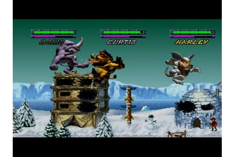 Rampage Through Time Complete Gameplay Adventure ...