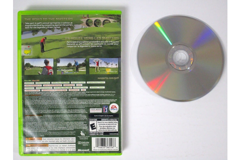 Tiger Woods PGA Tour 12: The Masters game for Xbox 360 ...