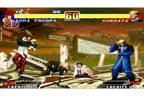 The King of Fighters 96 [SPECIAL TEAM] (NEO-GEO STATION ...