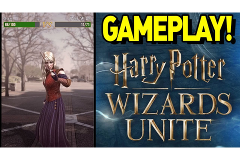 FIRST GAMEPLAY of HARRY POTTER WIZARDS UNITE! HARRY POTTER ...