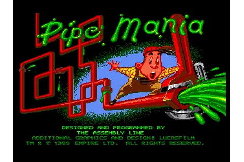 My all time favourite video games: Pipe Mania - Commodore ...