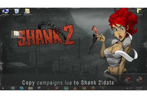 SHANK 2 Unlock all Characters in Campaign mode - YouTube