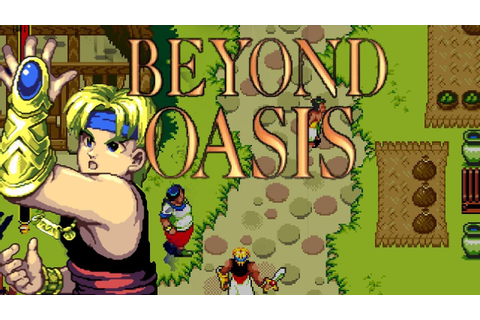 1995 Beyond Oasis (Sega Genesis) Game Playthrough Video ...