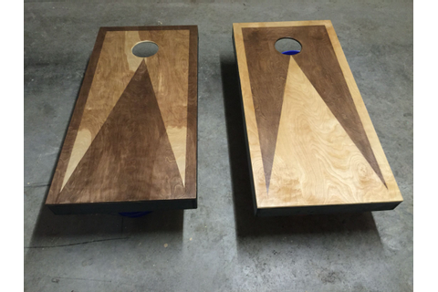 Custom Stained Cornhole Boards | Cornhole Boards ...